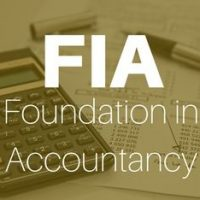 Foundation in Accountancy from ACCA