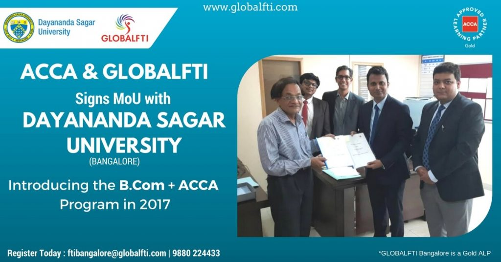 ACCA Signing with Dayanand Sagar