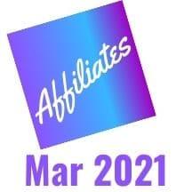 Affiliates - March 2021